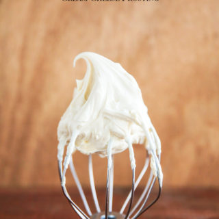 Pipable Brown Butter Cream Cheese Frosting
