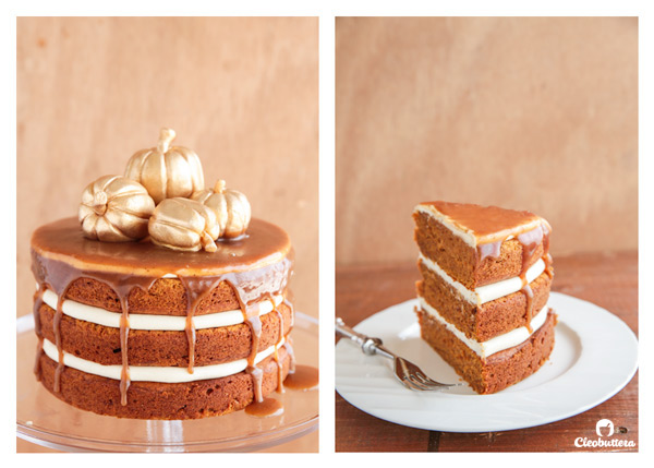 pumpkin layer cake the ultimate pumpkin cake cleobuttera 6856