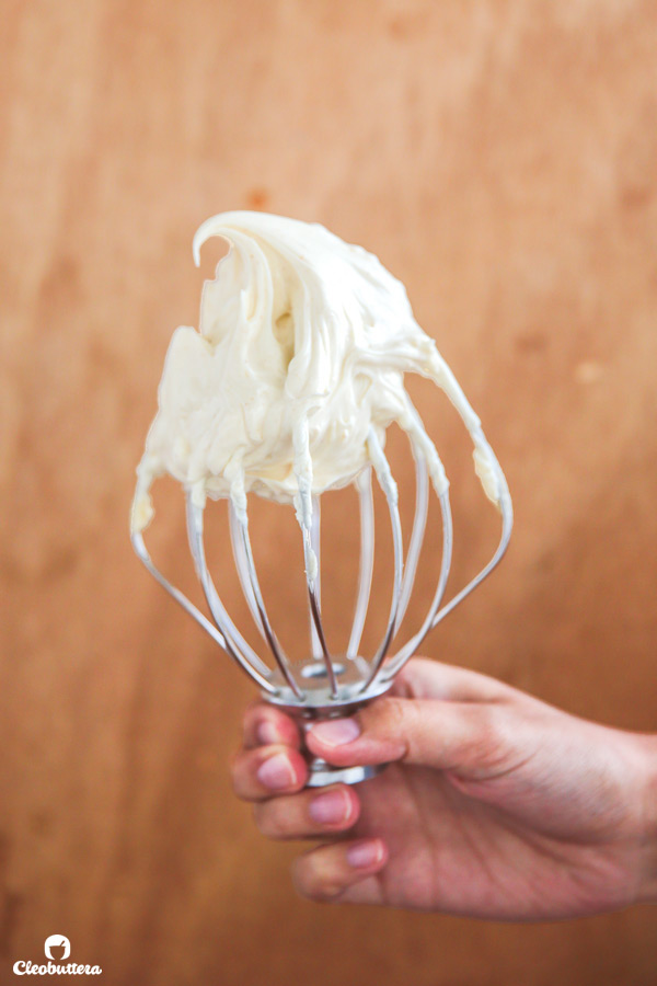 Pipable Brown Butter Cream Cheese Frosting - Perfectly sweet with caramel notes from the brown butter, this frosting is so creamy yet sturdy enough to pipe. Might just become your new favorite!