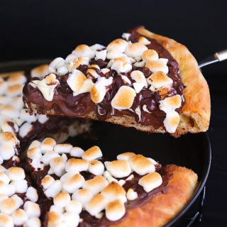 Sinful Chocolate Pizza