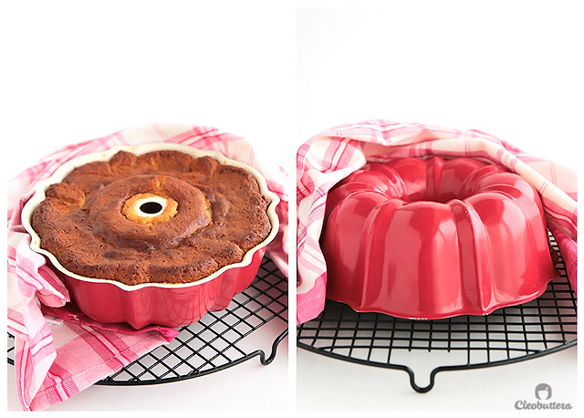 Vanilla Bean Bundt Cake (with macerated strawberries) ...The moistest, most tender and flavourful vanilla bundt you will ever meet!