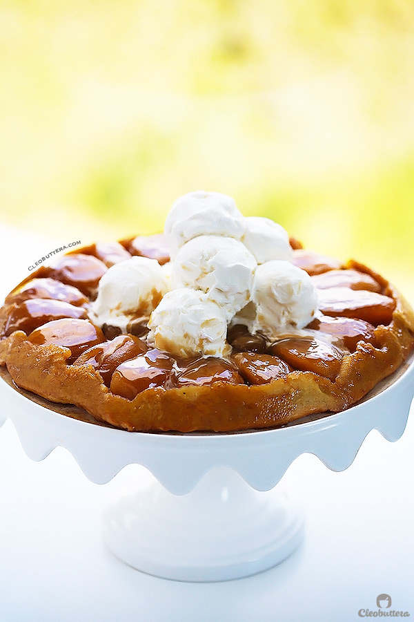 AMAZING APPLE TARTE TATIN