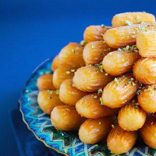 Grandma's Balah El Sham (Fluted Fritters)