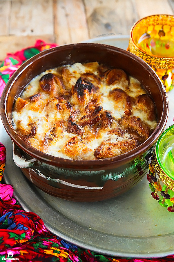BEST EVER OM ALI (Egyptian Bread Pudding) with a secret ingredient that will puts it over the top!