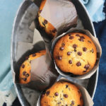 This is the chocolate chip muffin recipe you've been searching for! SO soft, tender and super moist. THE BEST EVER!
