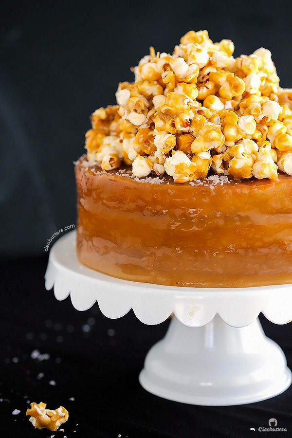 Salted Caramel Cake Recipe the perfect caramel cake