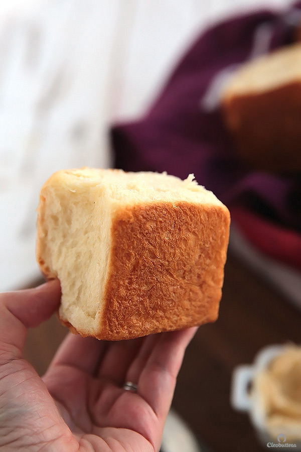Also known as Hokkaido milk bread. Incredibly soft and airy, thanks to a simple Japanese technique called tandzhong that ensures fluffy bread every time.