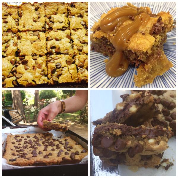 Salted Caramel Chocolate Chip Cookie Bars (Baking Buddies)