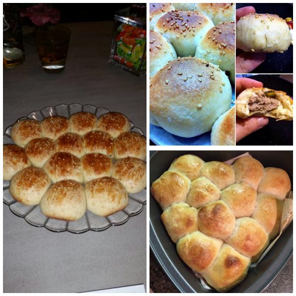 Mini Cheeseburger Stuffed Buns (Baking Buddies)