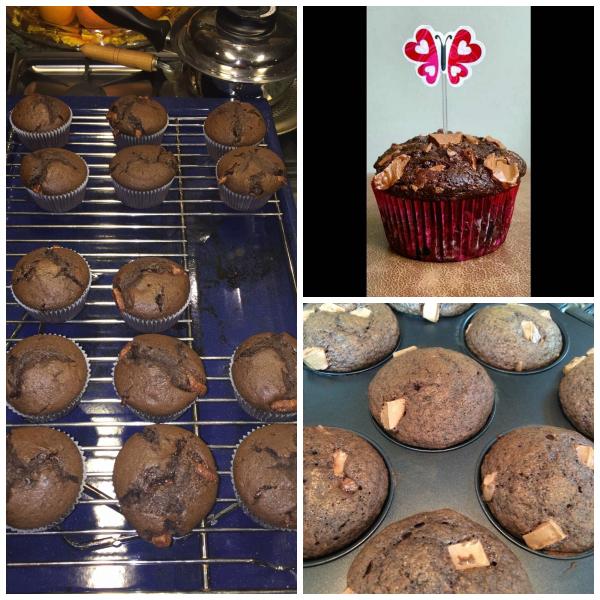 Galaxy Chunk Chocolate Muffins (Baking Buddies)