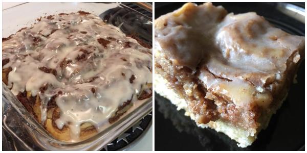 Gooey Cinnamon Roll Cake (Baking Buddies)