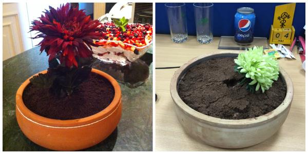 Spring Potted Dirt Cake {Baking Buddies}
