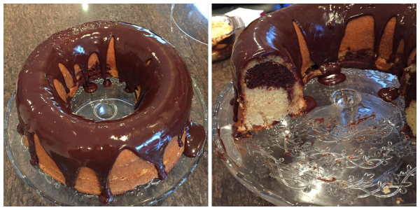 Moist and Tender Marble Cake (Baking Buddies)
