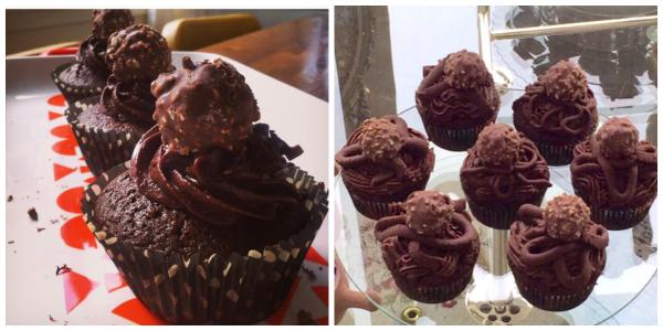 Nutella Lava Cupcakes (Baking Buddies)