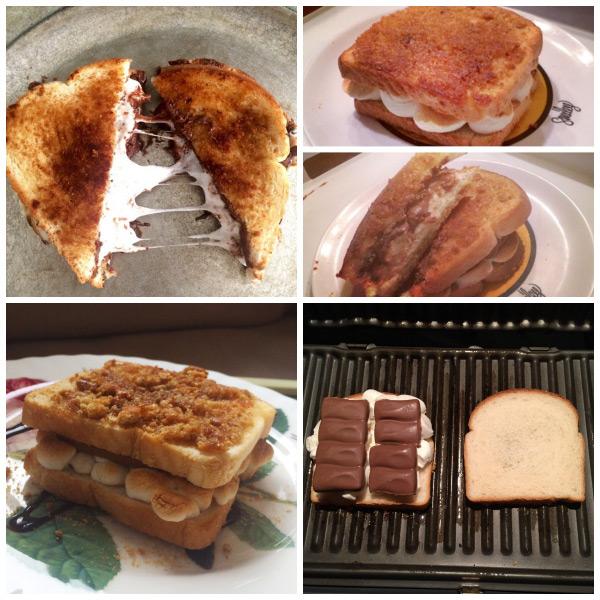 Grilled S'mores Sandwich {Baking Buddies}