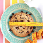 Quick and easy recipe for ONE extra large, thick and chewy chocolate chip cookie! Perfect for those moments when a cookie craving strikes, but don't want to bake up a whole batch. (Can also make 2 regular sized cookies or mini skillet cookies a la mode!)