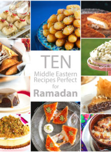A round up of 10 (mostly) Middle Eastern recipes that are perfect for the month of Ramadan or just about anytime of the year!