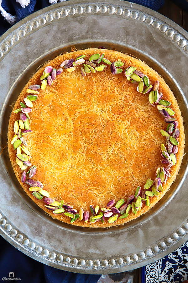 This recipe breaks some cheese Kunafa-making rules, but the result is one of the best you'll ever have! A simple trick keeps the cheese filling from hardening even after it has cooled down.