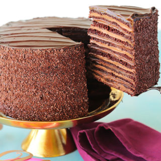 Epic 12 Layer Chocolate Cake
