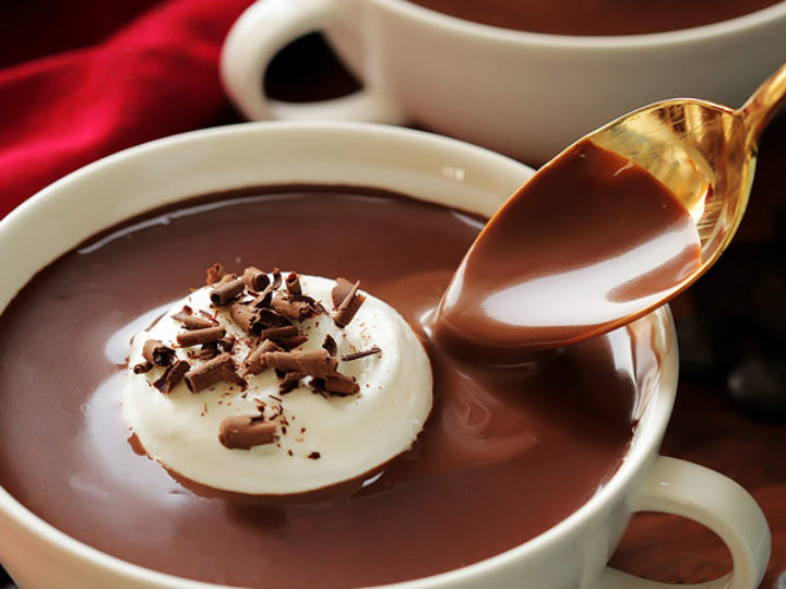 Rich Italian Hot Chocolate Cleobuttera