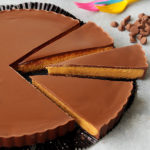 This blown up version of Reese's is literally the BIGGEST treat for peanut butter cup lovers!  It tastes so much like the real thing and it doesn't hurt that its NO bake and so easy to make!