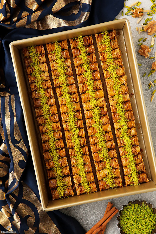 Cinnamon Baklava Rolls