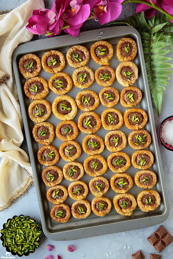 Chocolate Baklava Bracelets (Asawer El Sit)