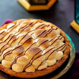 S'mores Kunafa Pie