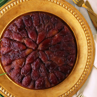 Upside Down Date Cake