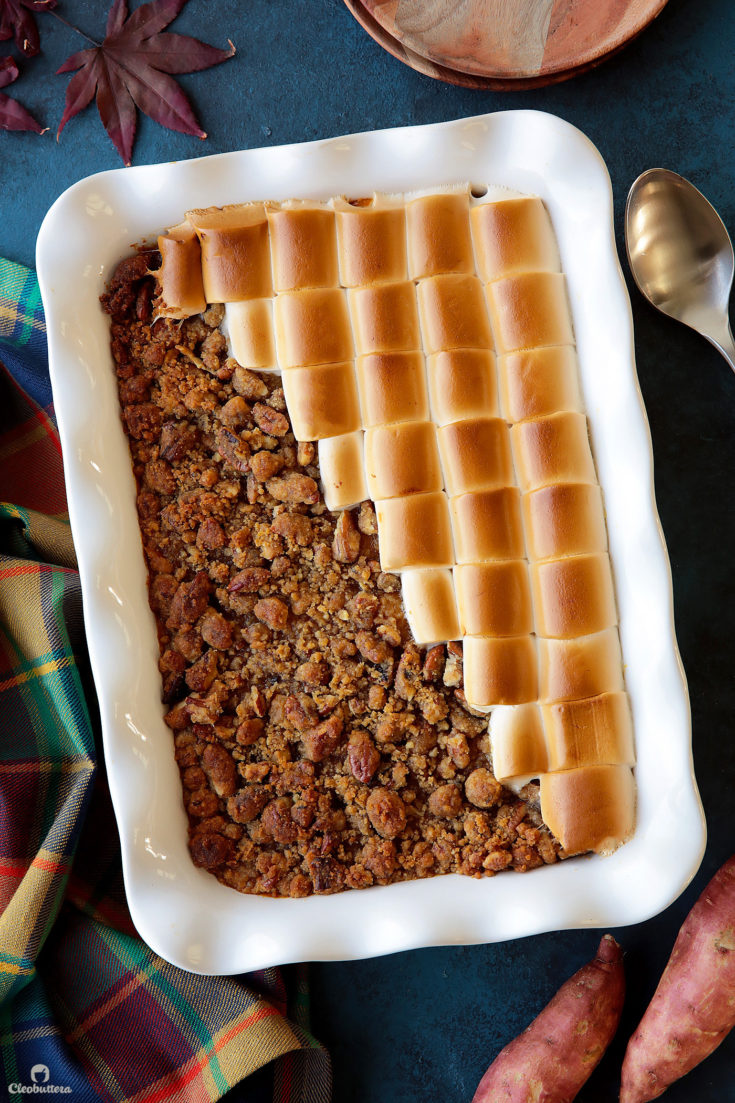 A Sweeter Sweet Potato Casserole