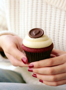 This red velvet cupcake recipe took years to perfect & the result is everything you can hope for! Soft and tender with a velvety texture, and super flavorful with tangy notes and sweet vanilla that's been kissed of cocoa.  A cloud of not too-sweet, whipped cream cheese frosting takes it over the top.  It's a winner!