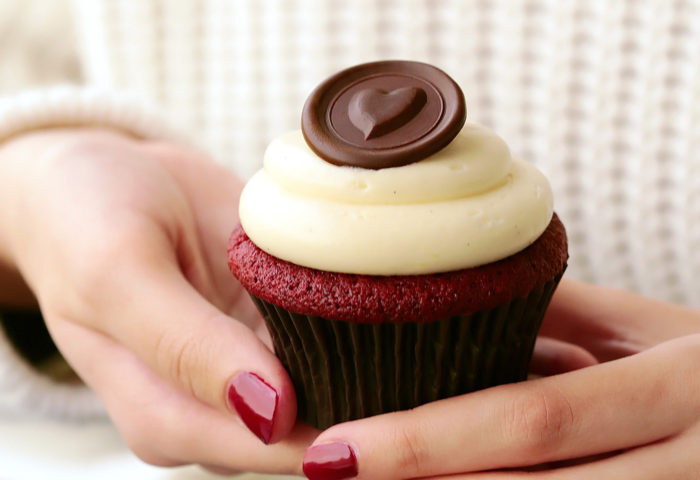 This red velvet cupcake recipe took years to perfect & the result is everything you can hope for! Soft and tender with a velvety texture, and super flavorfulwithtangy notes and sweet vanilla that's been kissed of cocoa. A cloud of not too-sweet, whipped cream cheese frosting takes it over the top. It's a winner!