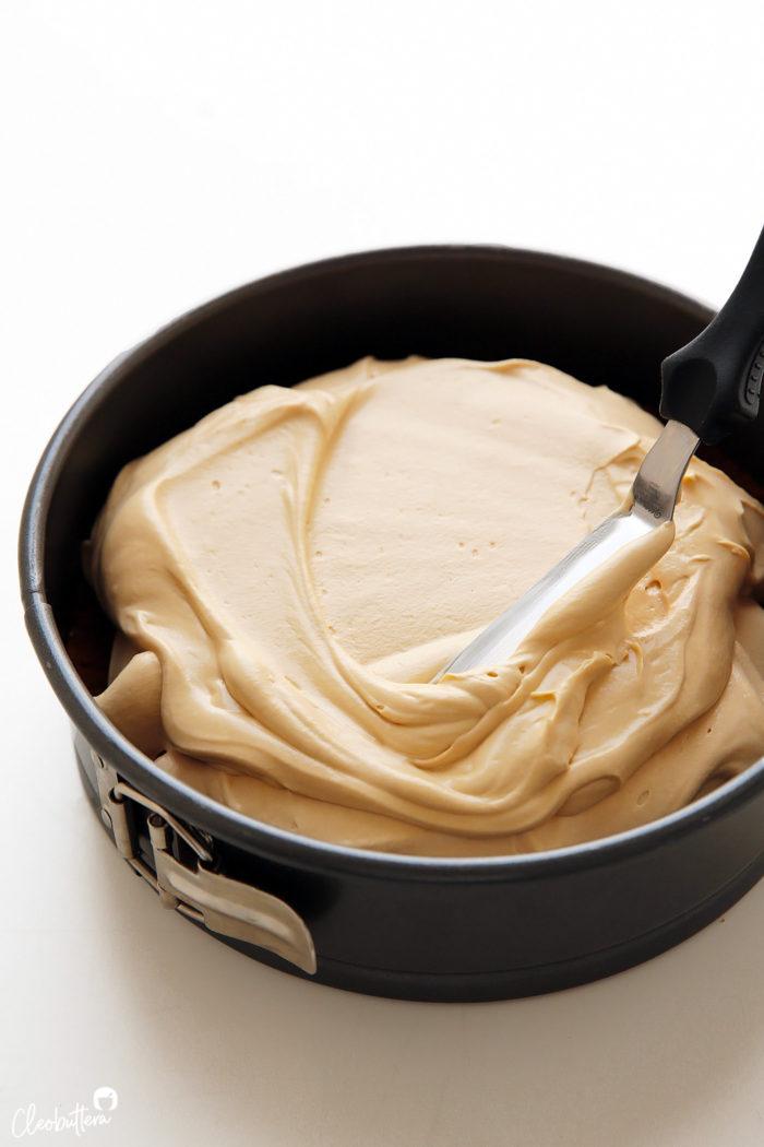 No Bake Lotus Biscoff Cheesecake Cleobuttera