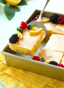 If you're looking for a simple to make lemon cake with bold lemon flavor and a soft and fluffy texture, look no further! This cake is bright and refreshing with a tender crumb that melts in the mouth!